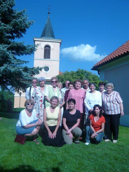 Chrámový sbor u kostela sv. Bartoloměje v Rakovníku